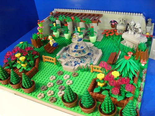 LEGO Formal Garden