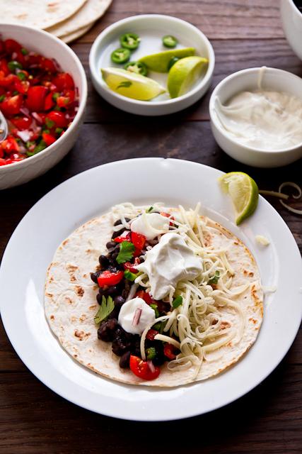 Black & White Tacos