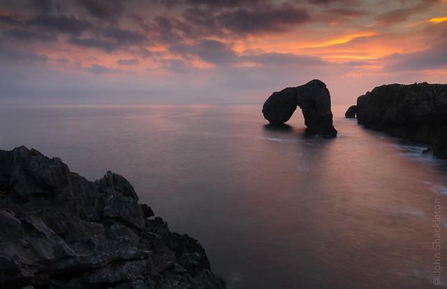 Sunrise - Castro de las Gaviotas V, Asturias