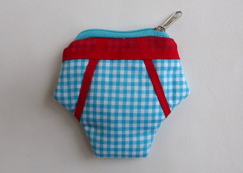 Porta Moedas Cueca by Cute for Baby by Mirian Rezende