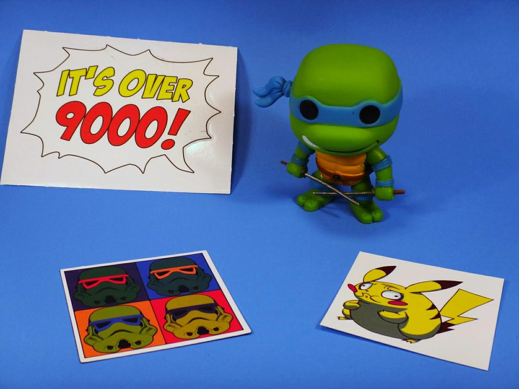 Loot Crate September 2013 Animate TMNT Funko