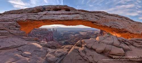 Mesa Arch - A Looking In View