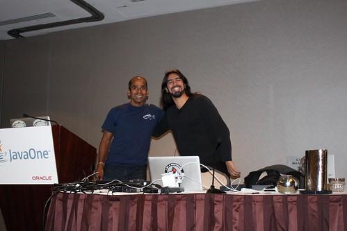 Arun and Antonio