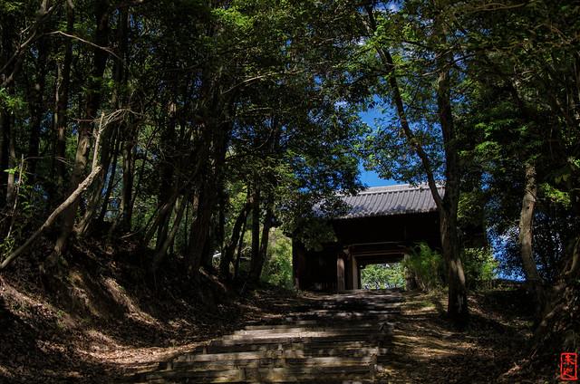 「仁王門へ」 石峯寺 - 兵庫