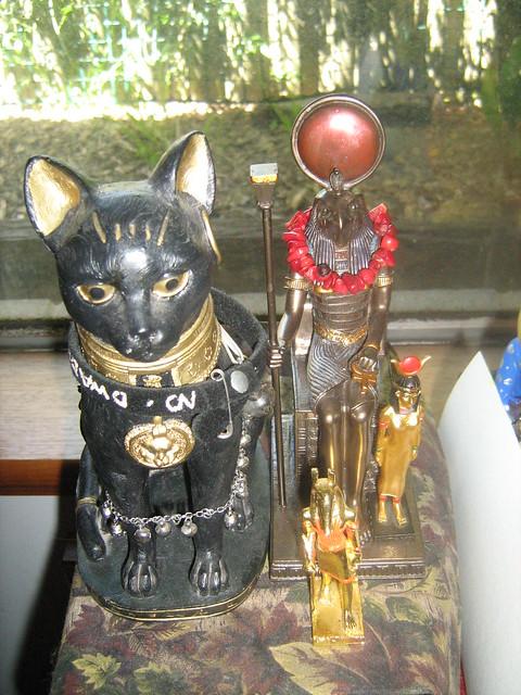 Netjeru Shrine - Ra's side