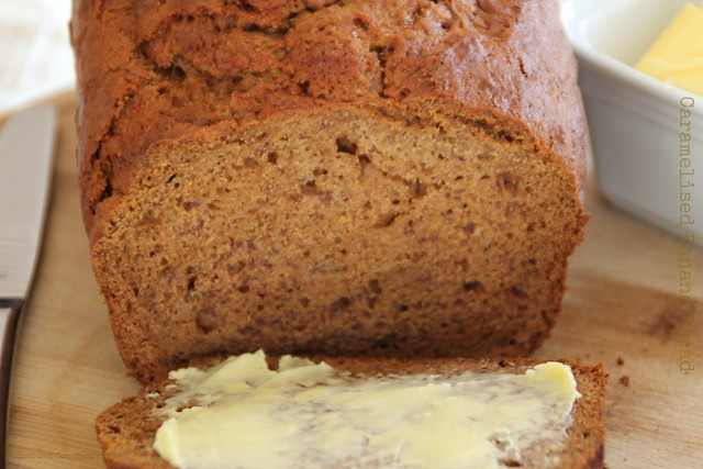 Caramelised Banana Bread 5