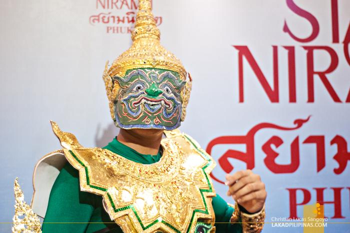 A Thai Mythical Creature at Phuket's Siam Niramit Show