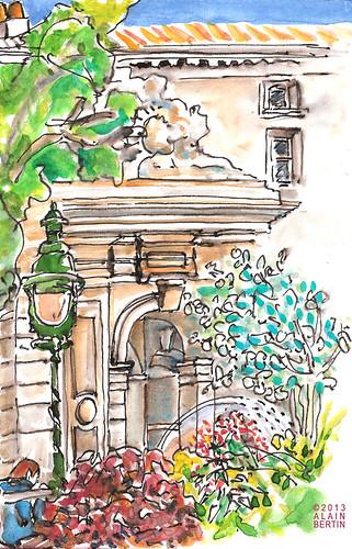 La Fontaine Colbert by alain bertin