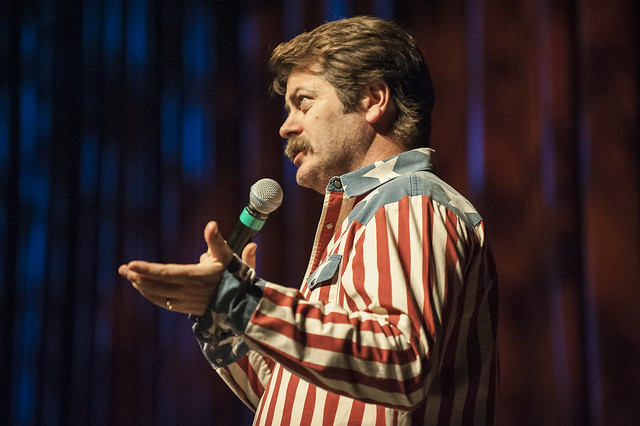 Nick Offerman In Athens 3