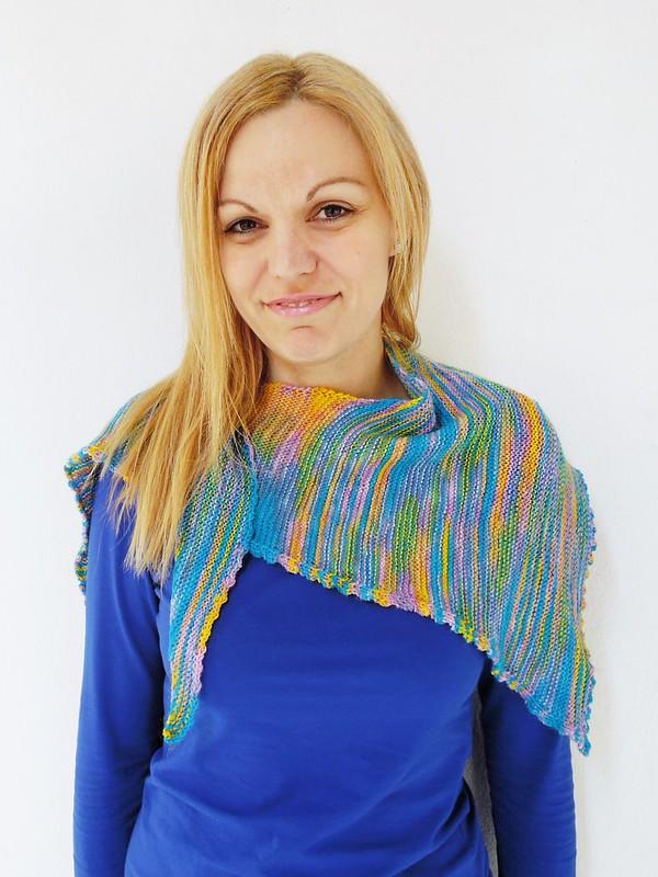 Tetragon scarf