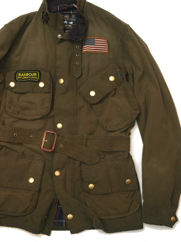 Barbour / Steve McQueen International Jacket