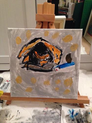 Painting with Antonio