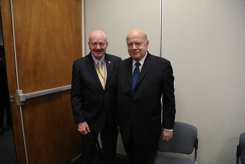 OAS Secretary General Met with the National Security Commissioner of Mexico