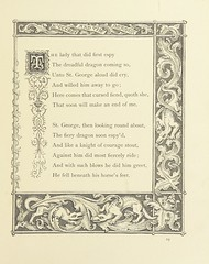 "British Library digitised image from page 37 of ""St. George and the Dragon [in verse], illustrated by J. Franklin [With a preface signed H.]"""