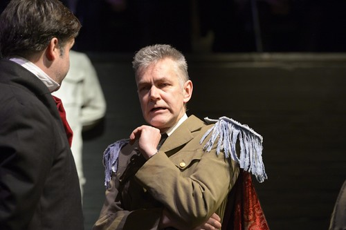 Julius Caesar (Richard Godden). Photo © Rob Gray
