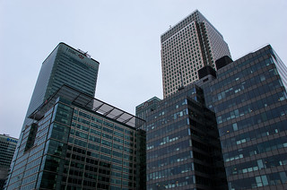 Buildings à Canary Wharf