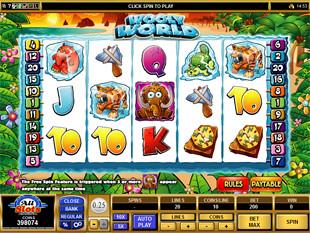 Wooly World Slot Machine
