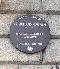 Photo of Richard Griffith brown plaque