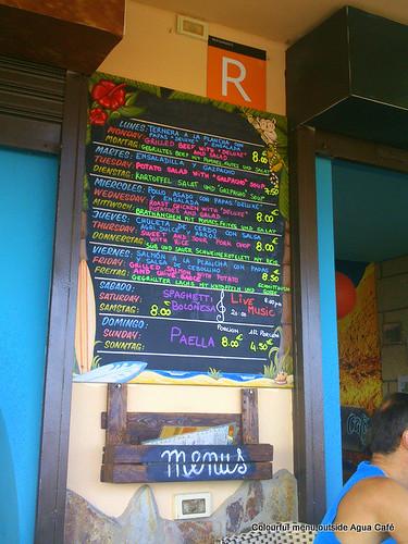Agua Cafe, El Medano