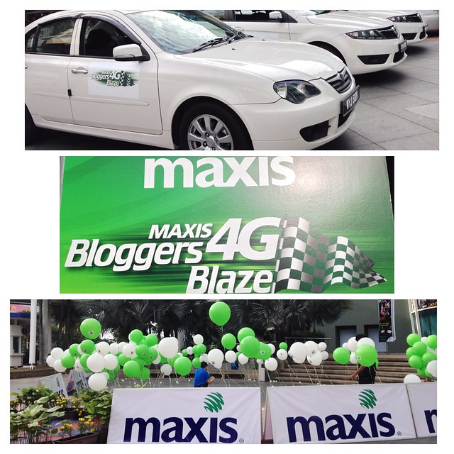 Maxis 4G LTE Bloggers Blaze - Stallion - my Winning Team