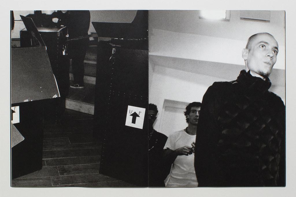 Yohji Yamamoto Pour Homme Lookbook F:W 2000