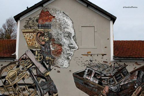 Grafiti Jardim do Tabaco, Lisboa by SandraFotosPortfolio