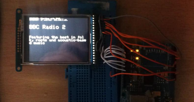 BBC Radio 2 on OLED 2