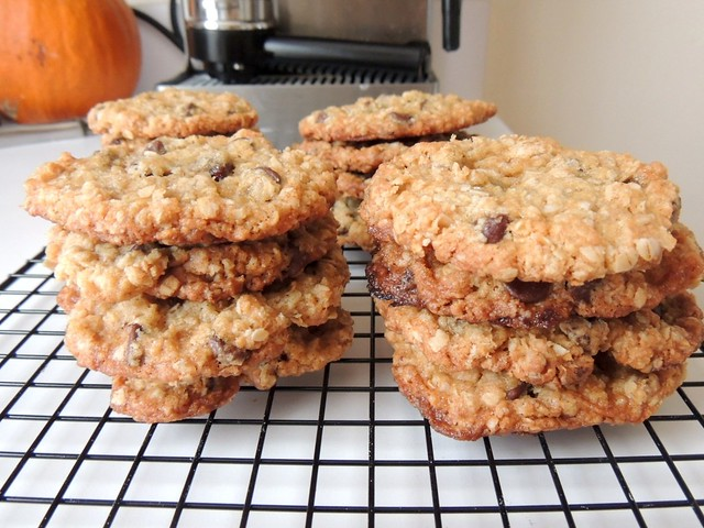 salted oatmeal chocolate cookies