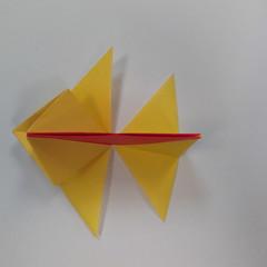 วิธีการพับกระดาษเป็นดาวหกแฉกแบบโมดูล่า 015