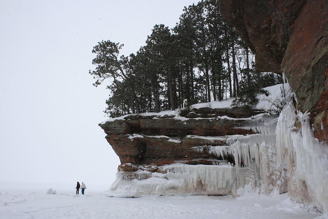 Apostle Islands Sea Ice Caves