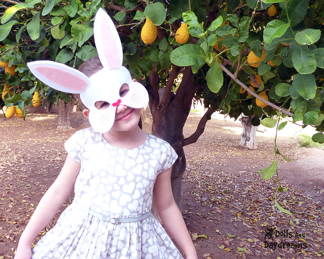Bunny Rabbit Mask Sewing Pattern