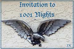 Eagle Invitaion 1001 Nights