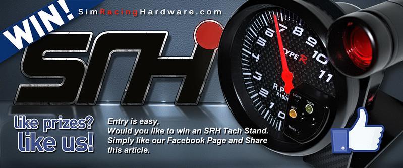 Sim Racing Hardware Tach Stand