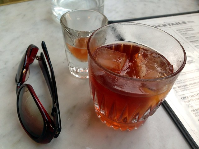 Full Windsor at Polite Provisions: single malt scotch, applejack, sweet vermouth, benedictine, bitters