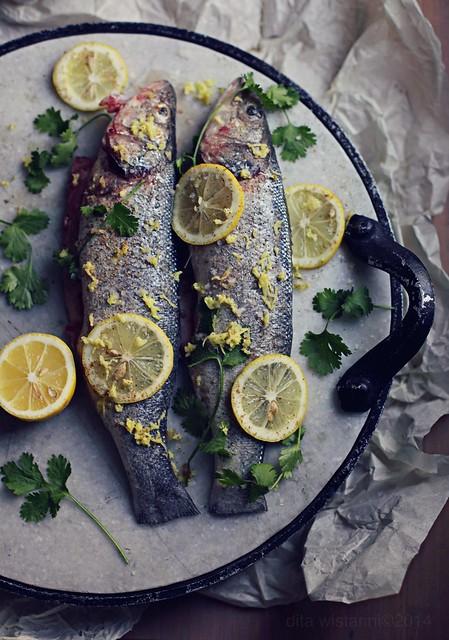 grilled fish prep
