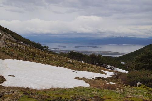 031 Wandeling bij Martial gletsjer