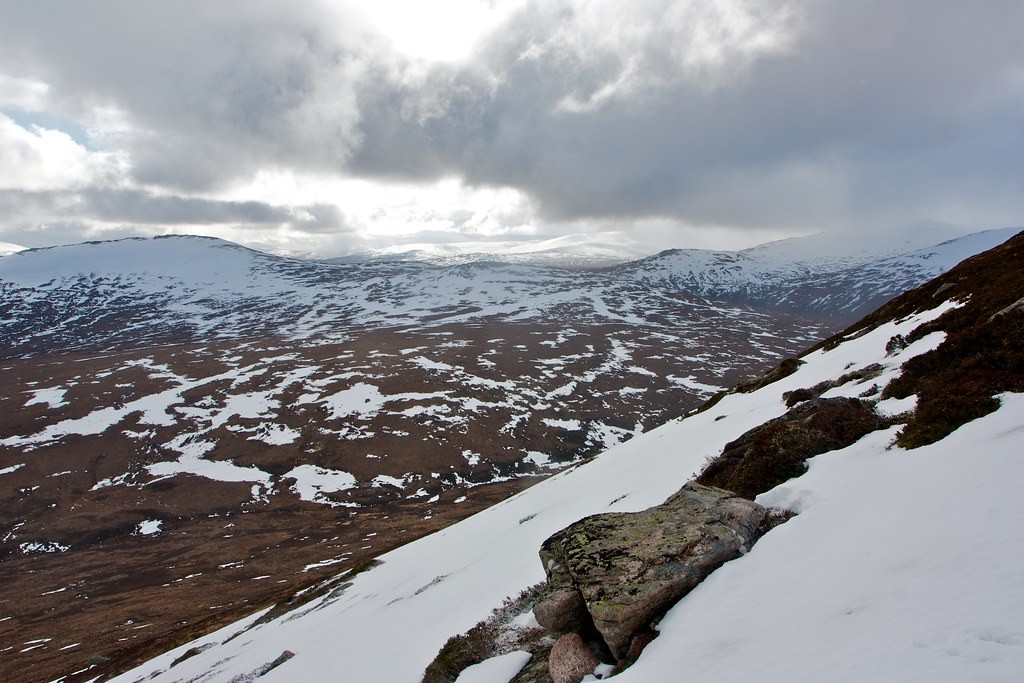 South from Cairn a' Mhaim