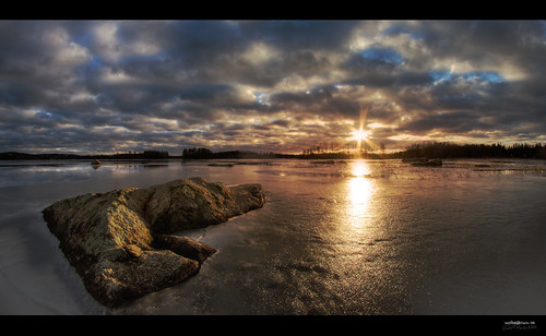 winter sunset lake canon suomi finland landscape spring maisema järvi auringonlasku kangasniemi hianselkä
