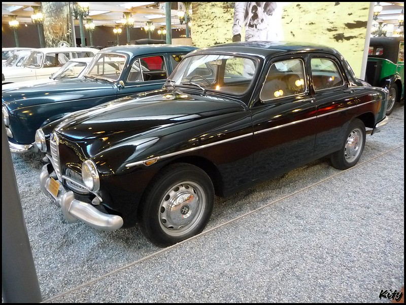 Alfa Romeo Super Berlina 1900 - 1955