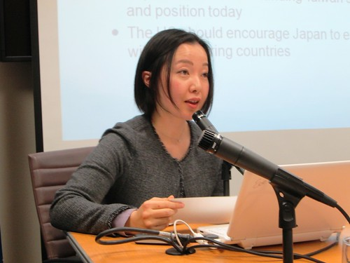 Dr. Madoka Fukuda, Associate Professor in the Department of Global Politics at Hosei University, examined the factors that are creating a new dynamic in Japan-China-Taiwan relations since 2008.