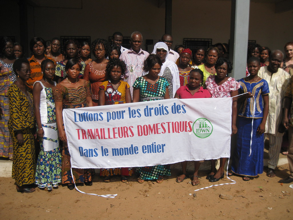 2014-3-8 Celebration on IWD in Togo
