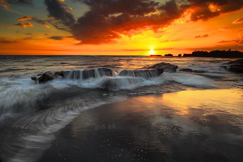 bali beach indonesia landscape gusaik
