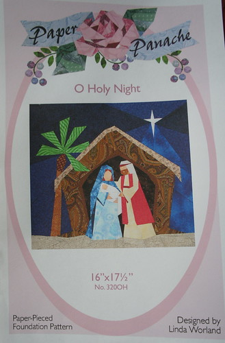 O Holy Night - Paper Pieced Nativity