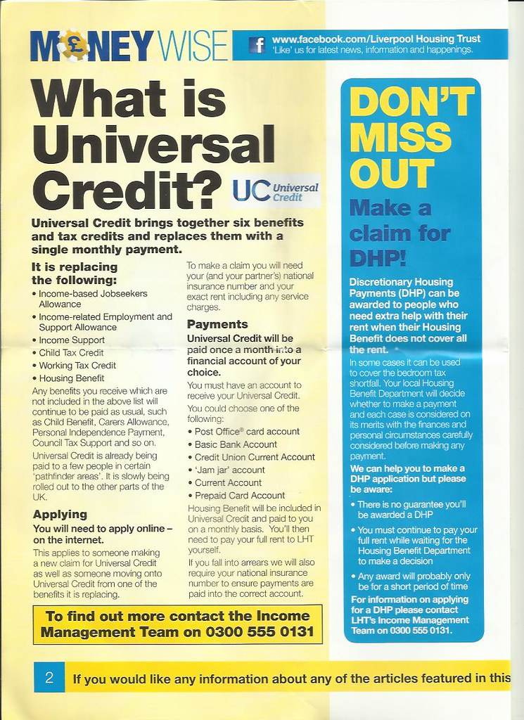 universal credit 2