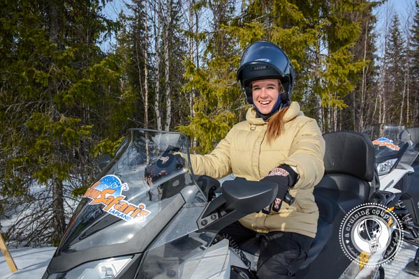 15 Ways Yllas, Finland Surprised and Enchanted Us - Snowmobiling Yllas