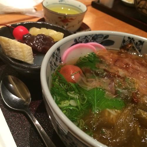 おぼろうどん+甘味SET
