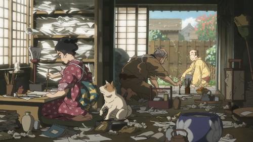 140426(1) - 江戶浮世繪傳奇人物「葛飾北齋」登上動畫、漫畫改編劇場版《百日紅》預定2015年上映! 2 FINAL