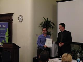 Best Paper Award Winner: W. Bradley Knox
