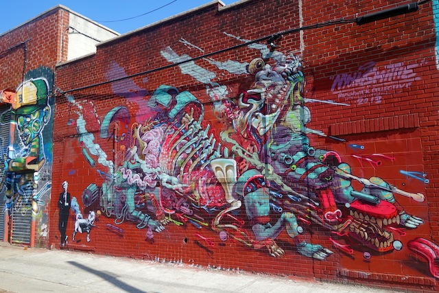 Brooklyn street art The Bushwick Collective awesome mural