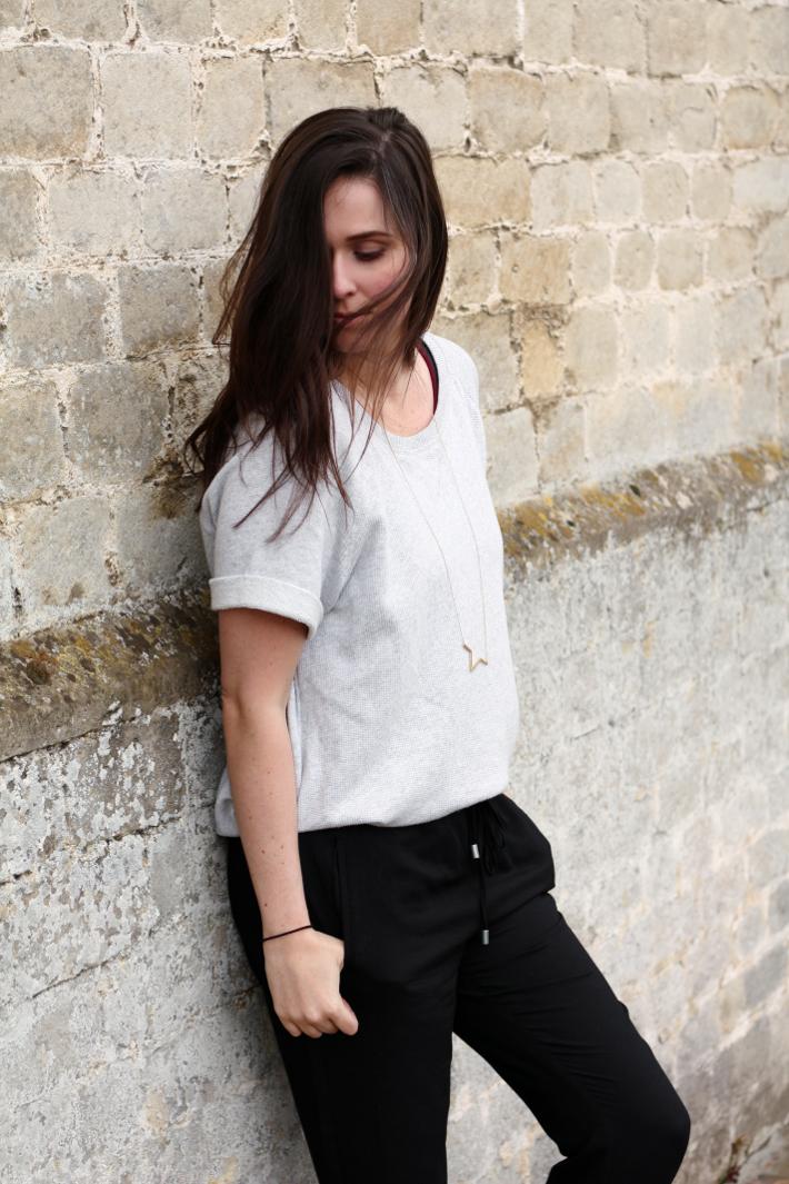 h&m sweatshirt casual outfit fashion